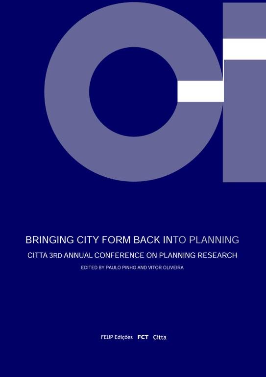 Bringing city form back into planning